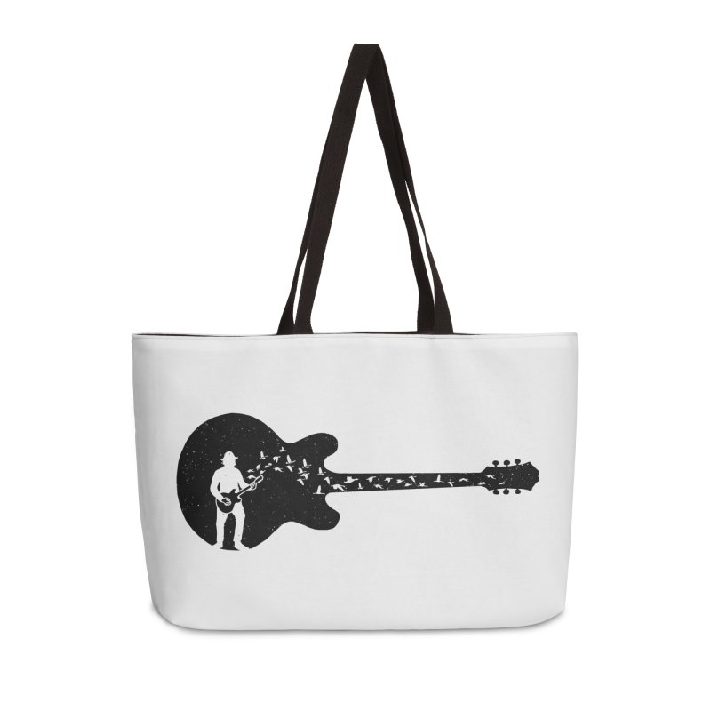 guitar guitarist Accessories Weekender Bag Bag by barmalisiRTB