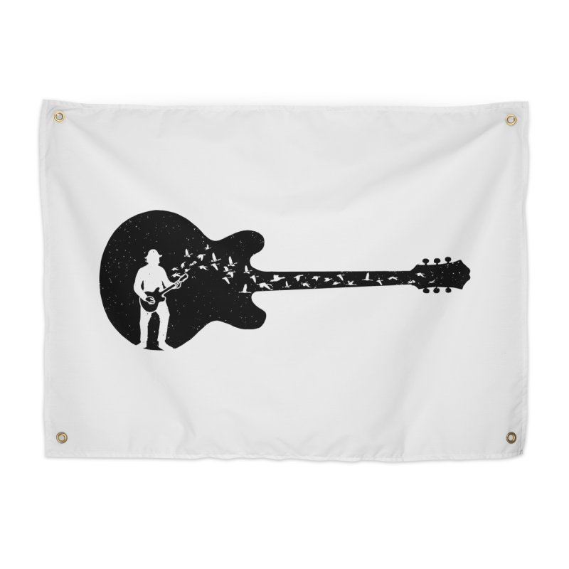 guitar guitarist Home Tapestry by barmalisiRTB