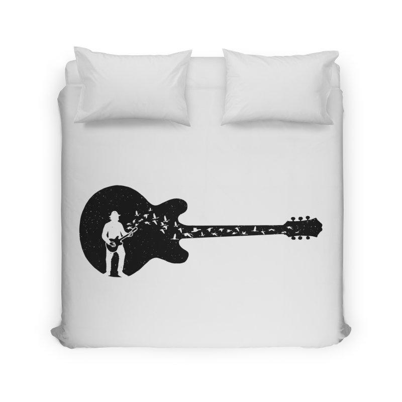 guitar guitarist Home Duvet by barmalisiRTB