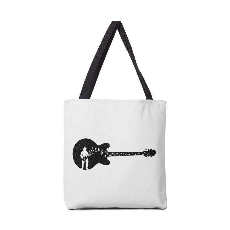 guitar guitarist Accessories Tote Bag Bag by barmalisiRTB