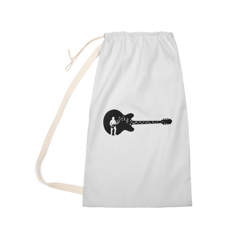 guitar guitarist Accessories Laundry Bag Bag by barmalisiRTB