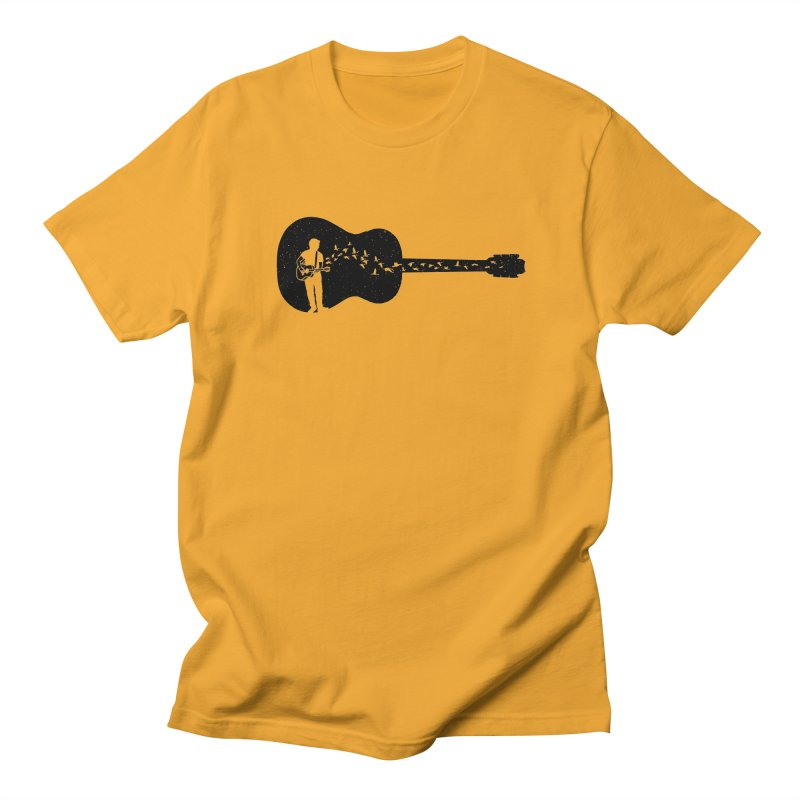 Guitar classical guitarist Men's Regular T-Shirt by barmalisiRTB