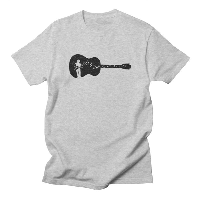 Guitar classical guitarist Men's Regular T-Shirt by barmalisiRTB