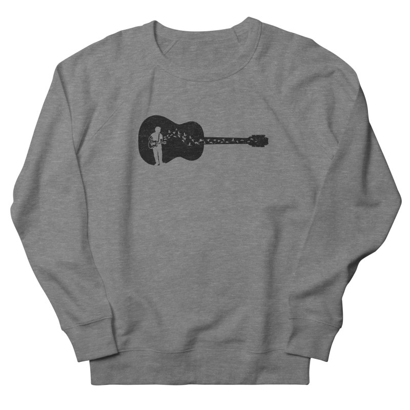 Guitar classical guitarist Men's French Terry Sweatshirt by barmalisiRTB