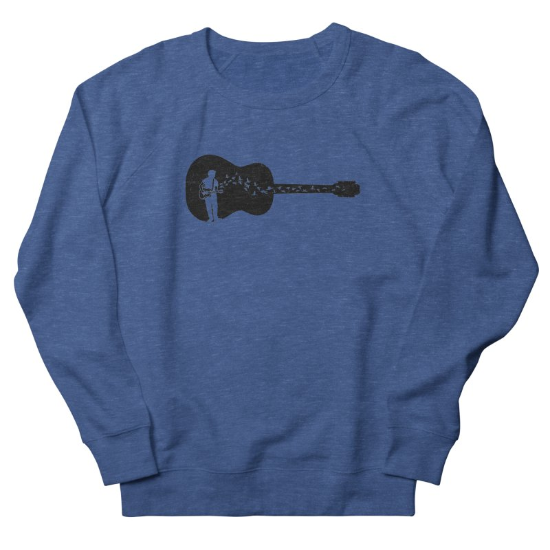 Guitar classical guitarist Men's Sweatshirt by barmalisiRTB