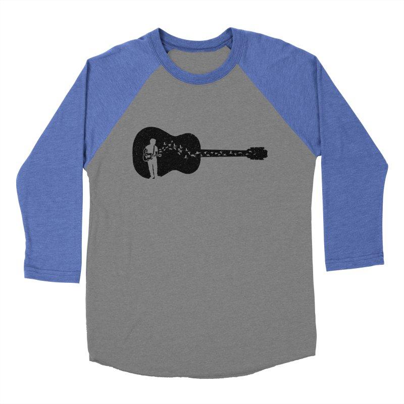 Guitar classical guitarist Women's Baseball Triblend Longsleeve T-Shirt by barmalisiRTB