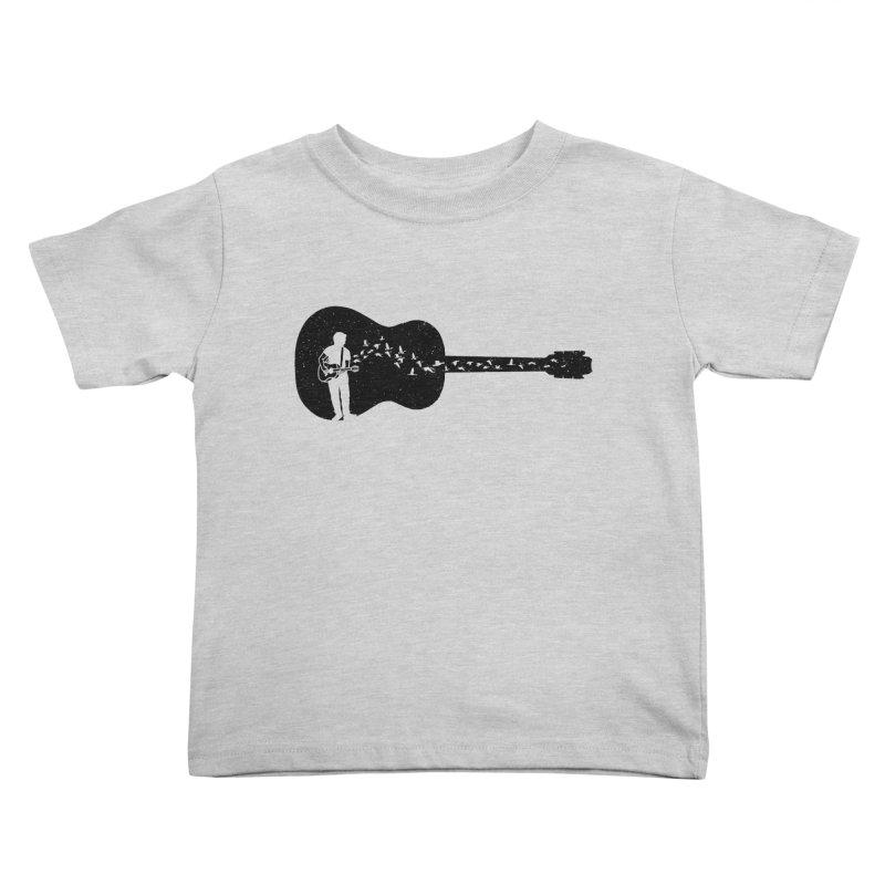 Guitar classical guitarist Kids Toddler T-Shirt by barmalisiRTB