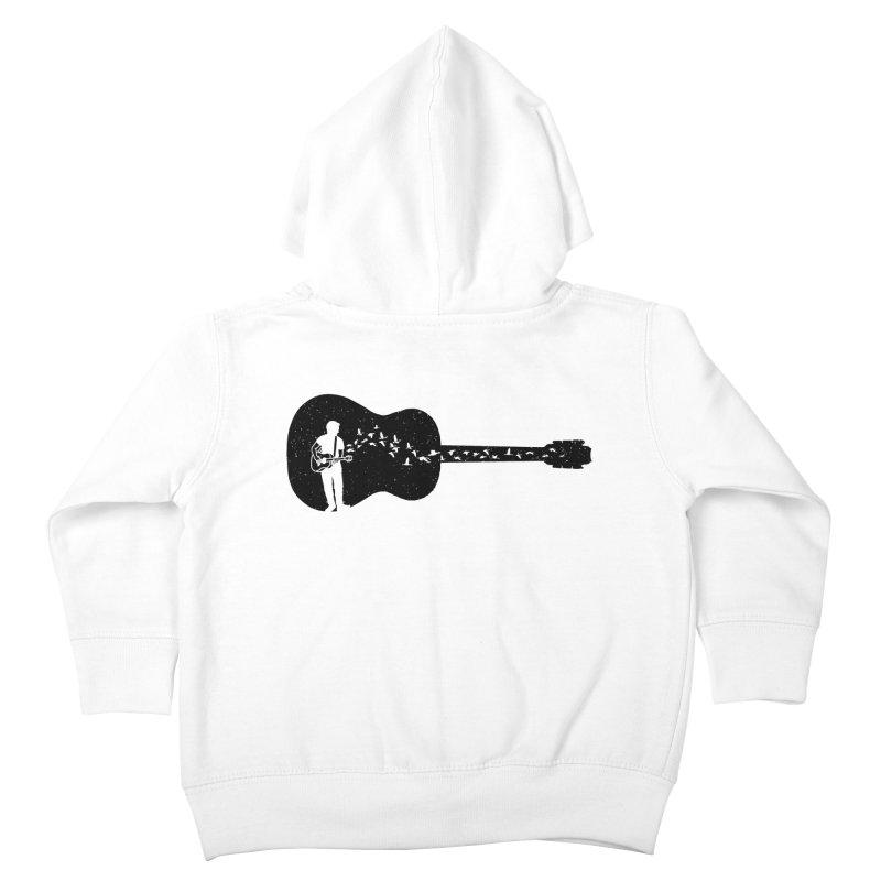 Guitar classical guitarist Kids Toddler Zip-Up Hoody by barmalisiRTB
