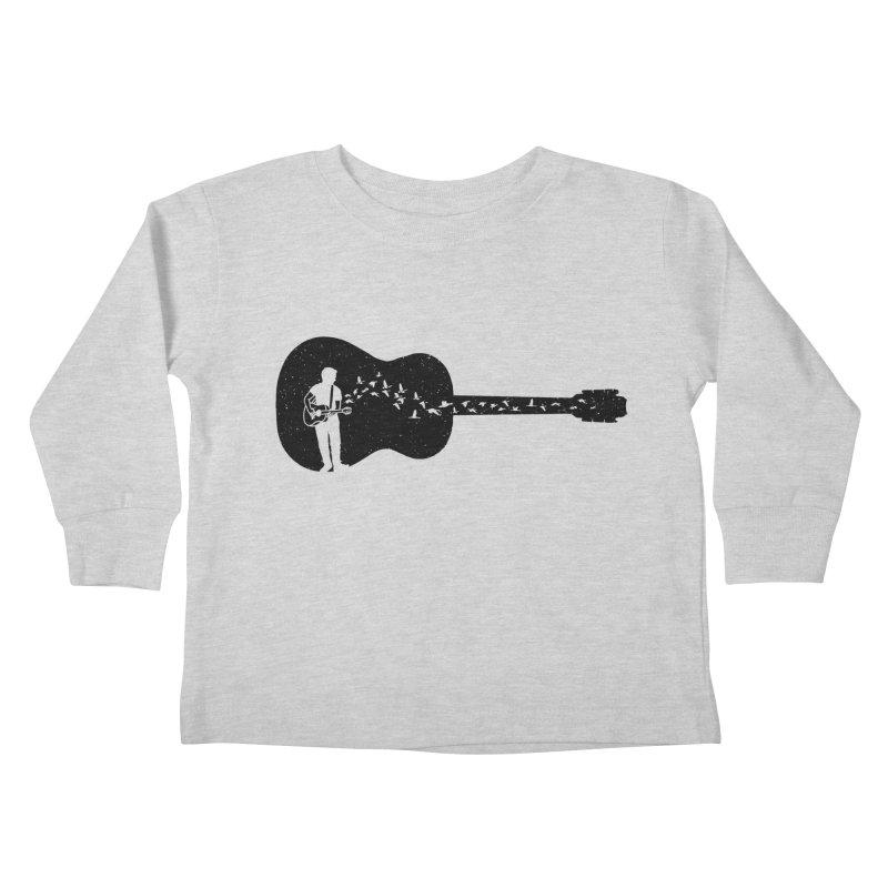 Guitar classical guitarist Kids Toddler Longsleeve T-Shirt by barmalisiRTB