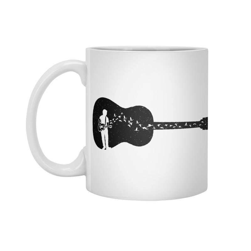 Guitar classical guitarist Accessories Standard Mug by barmalisiRTB