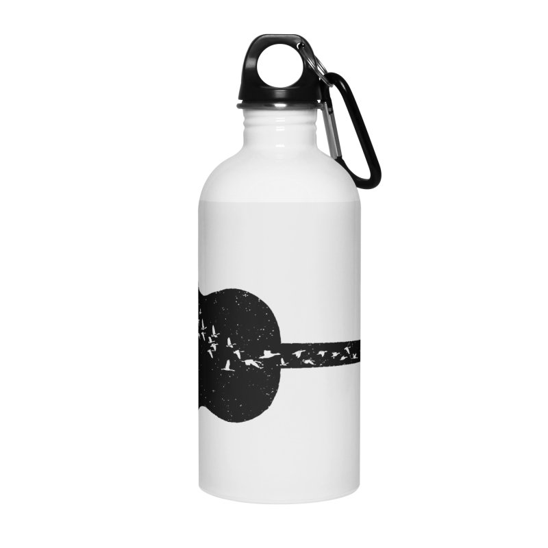 Guitar classical guitarist Accessories Water Bottle by barmalisiRTB
