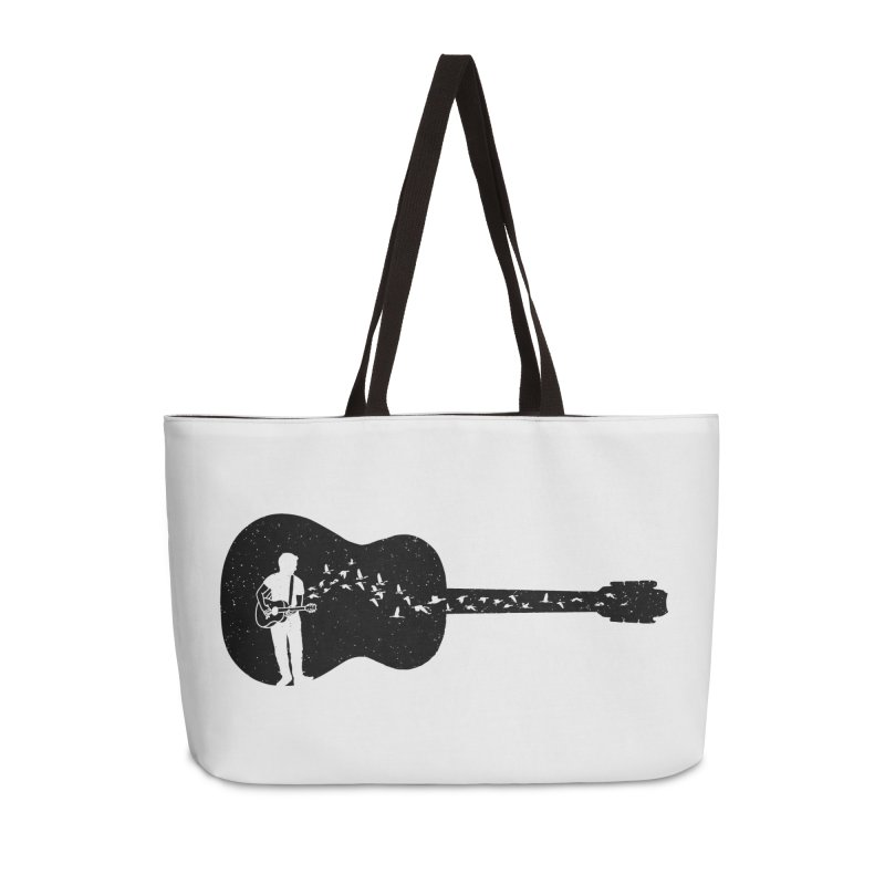 Guitar classical guitarist Accessories Weekender Bag Bag by barmalisiRTB