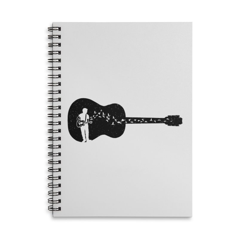 Guitar classical guitarist Accessories Notebook by barmalisiRTB