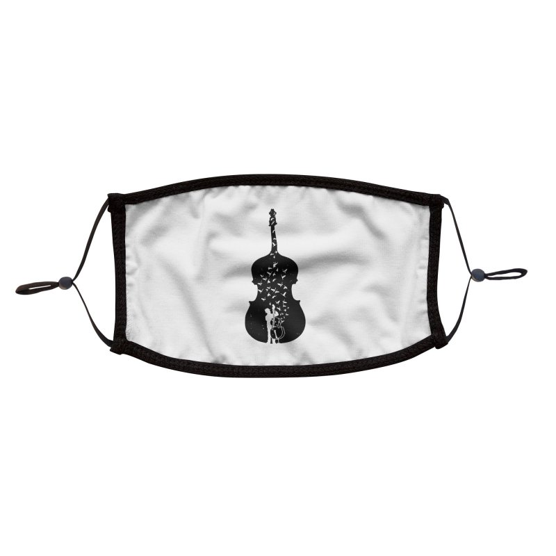 Double bass Accessories Face Mask by barmalisiRTB