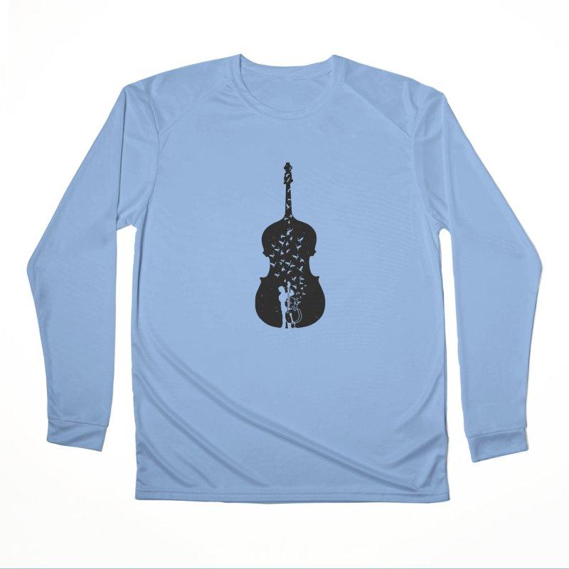 Double bass Men's Longsleeve T-Shirt by barmalisiRTB