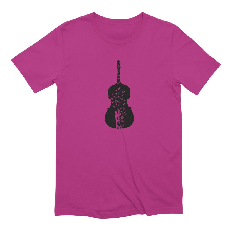 Double bass Men's Extra Soft T-Shirt by barmalisiRTB