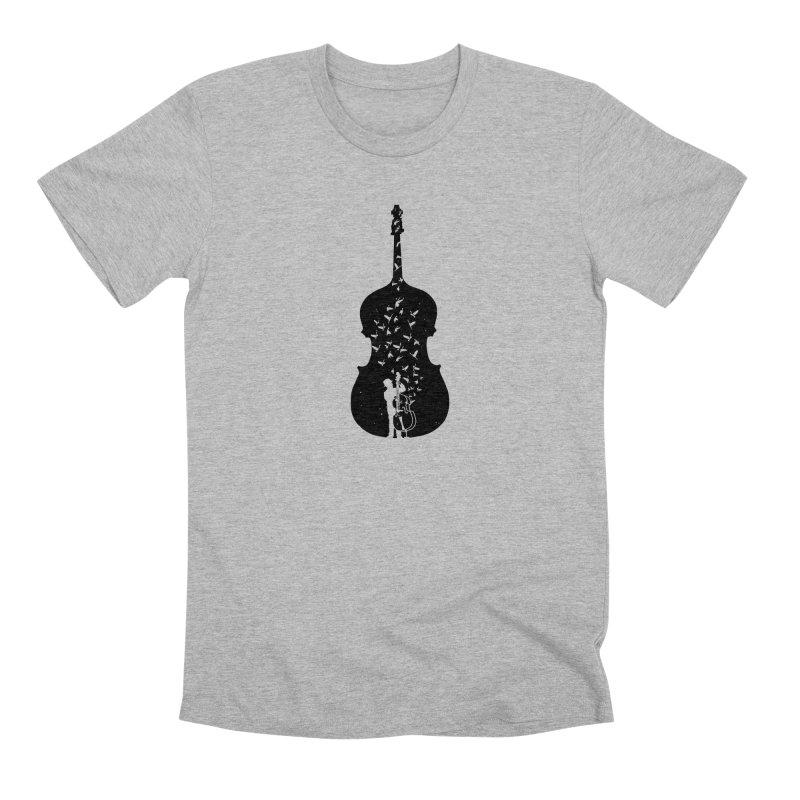 Double bass Men's Premium T-Shirt by barmalisiRTB