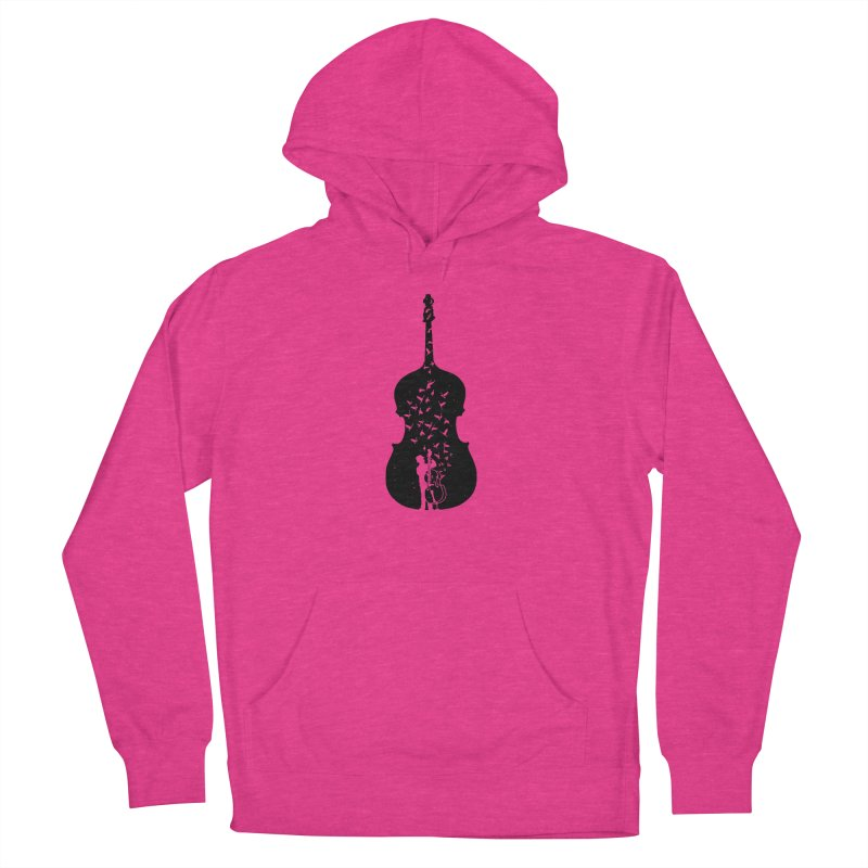Double bass Women's French Terry Pullover Hoody by barmalisiRTB