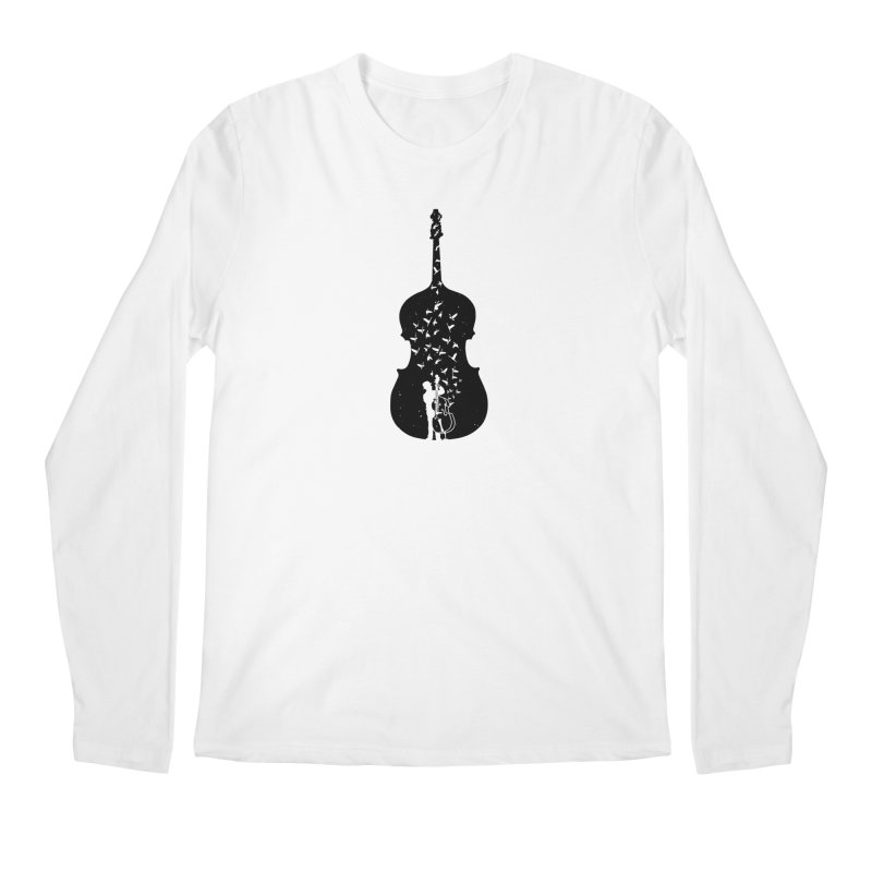 Double bass Men's Regular Longsleeve T-Shirt by barmalisiRTB