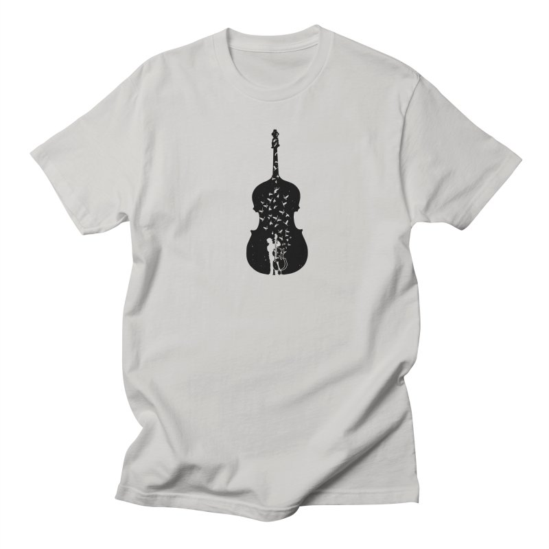 Double bass Men's Regular T-Shirt by barmalisiRTB