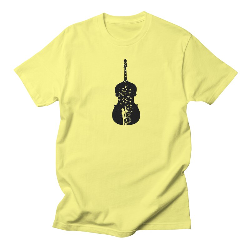 Double bass Men's Regular T-Shirt by barmalisiRTB