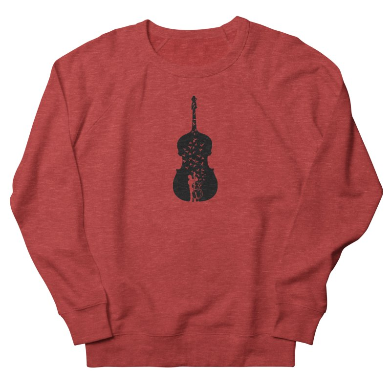 Double bass Men's French Terry Sweatshirt by barmalisiRTB