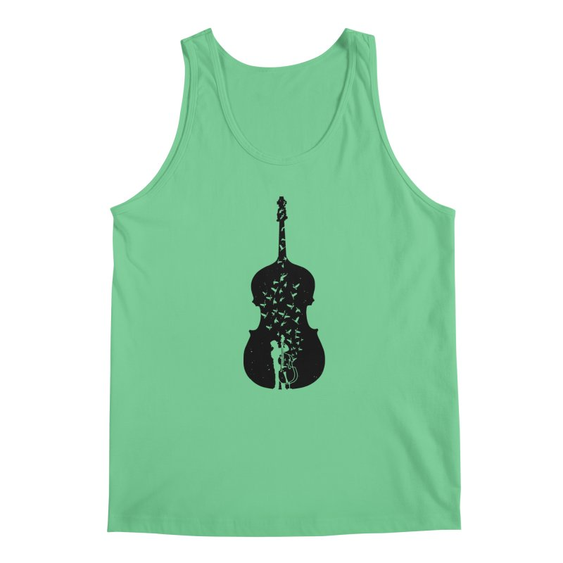 Double bass Men's Regular Tank by barmalisiRTB