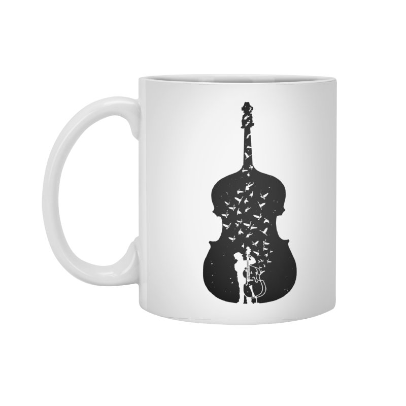 Double bass Accessories Mug by barmalisiRTB