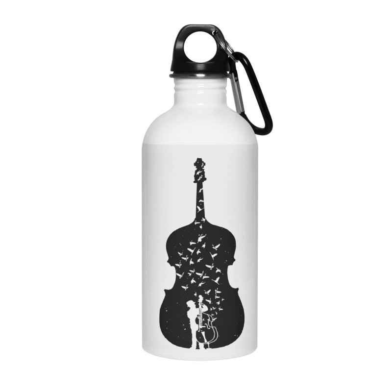 Double bass Accessories Water Bottle by barmalisiRTB