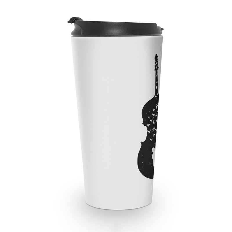 Double bass Accessories Travel Mug by barmalisiRTB