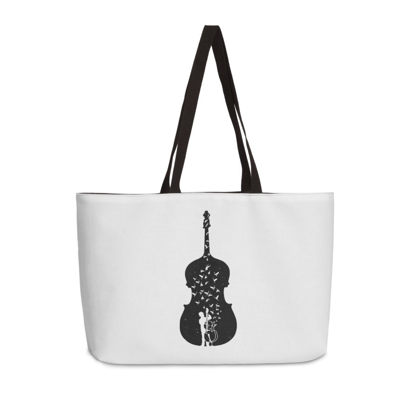 Double bass Accessories Weekender Bag Bag by barmalisiRTB