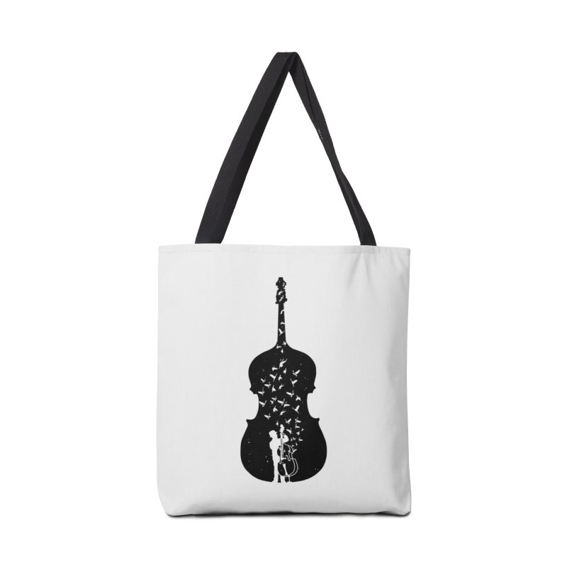 Double bass Accessories Tote Bag Bag by barmalisiRTB