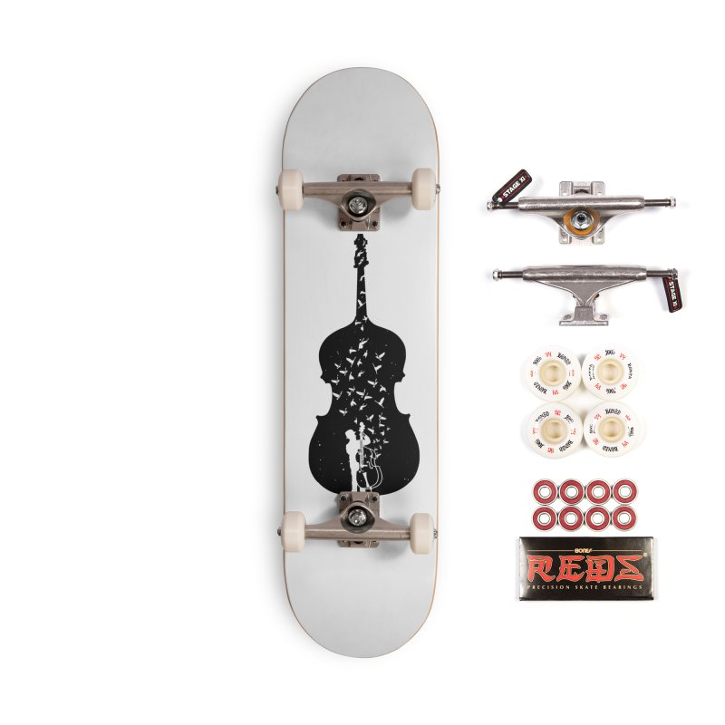 Double bass Accessories Skateboard by barmalisiRTB