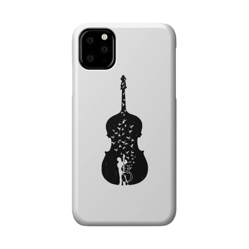 Double bass Accessories Phone Case by barmalisiRTB