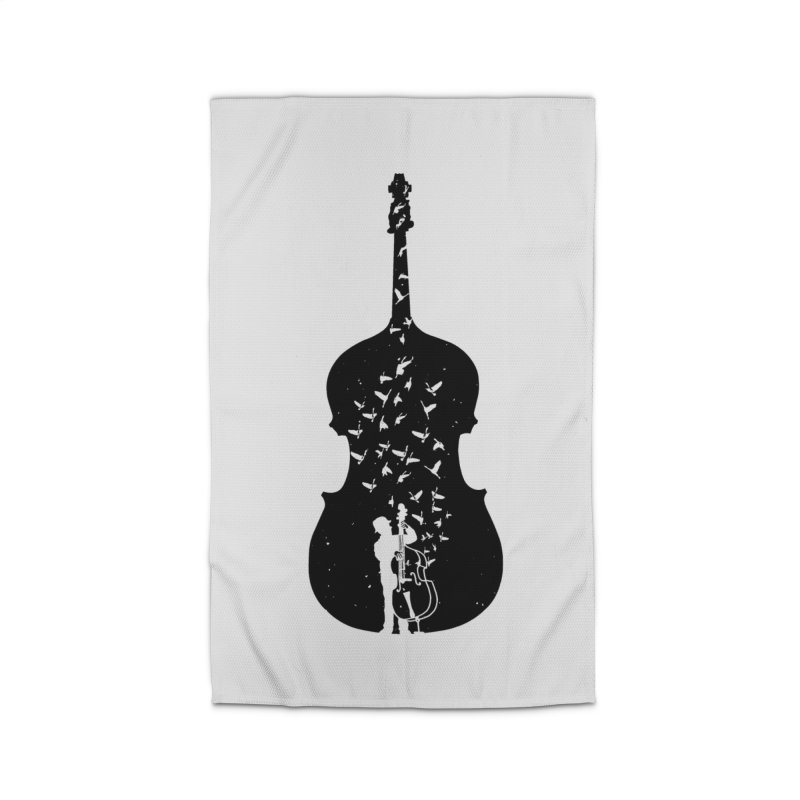 Double bass Home Rug by barmalisiRTB