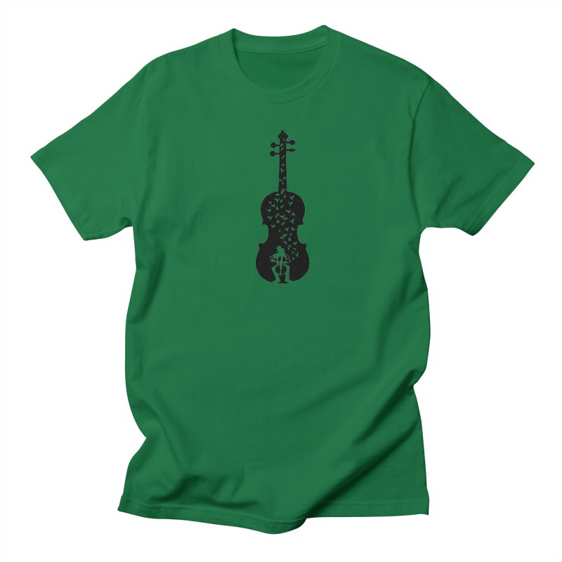 Cello - Playing Cello Women's Regular Unisex T-Shirt by barmalisiRTB