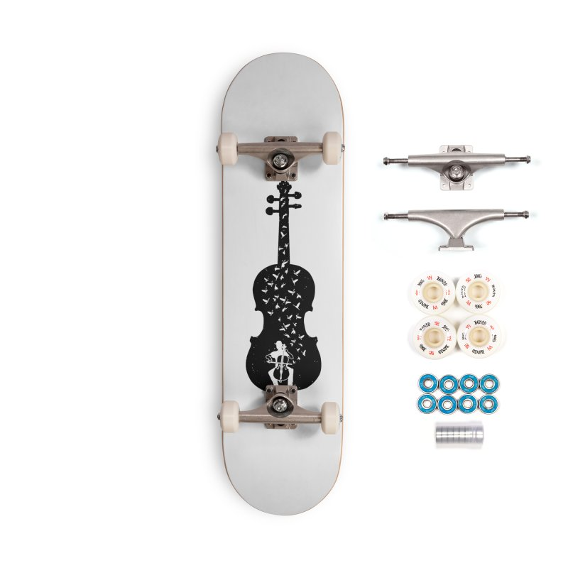 Cello - Playing Cello Accessories Complete - Premium Skateboard by barmalisiRTB