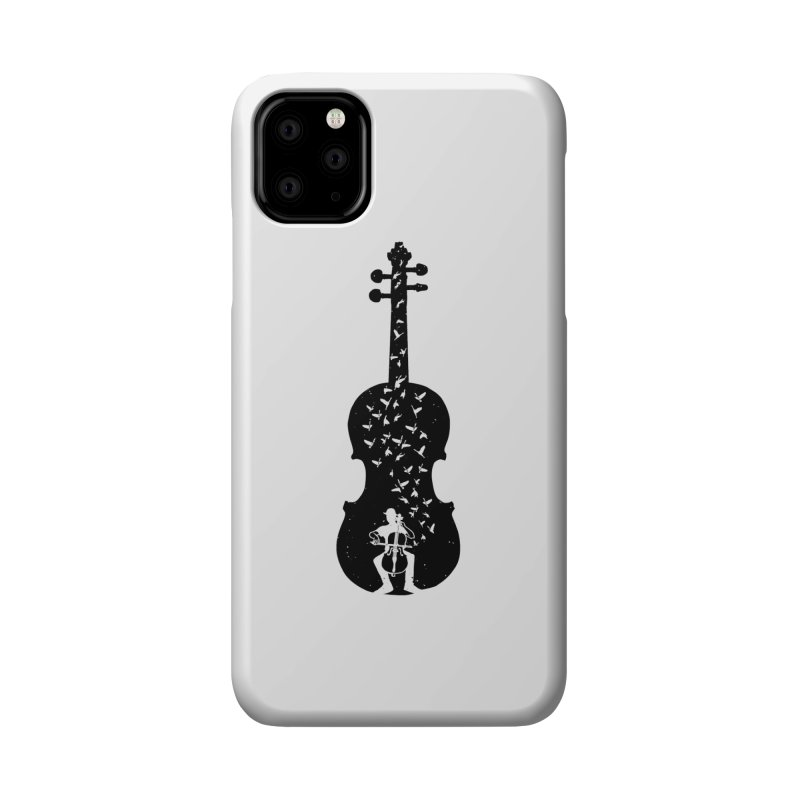 Cello - Playing Cello Accessories Phone Case by barmalisiRTB