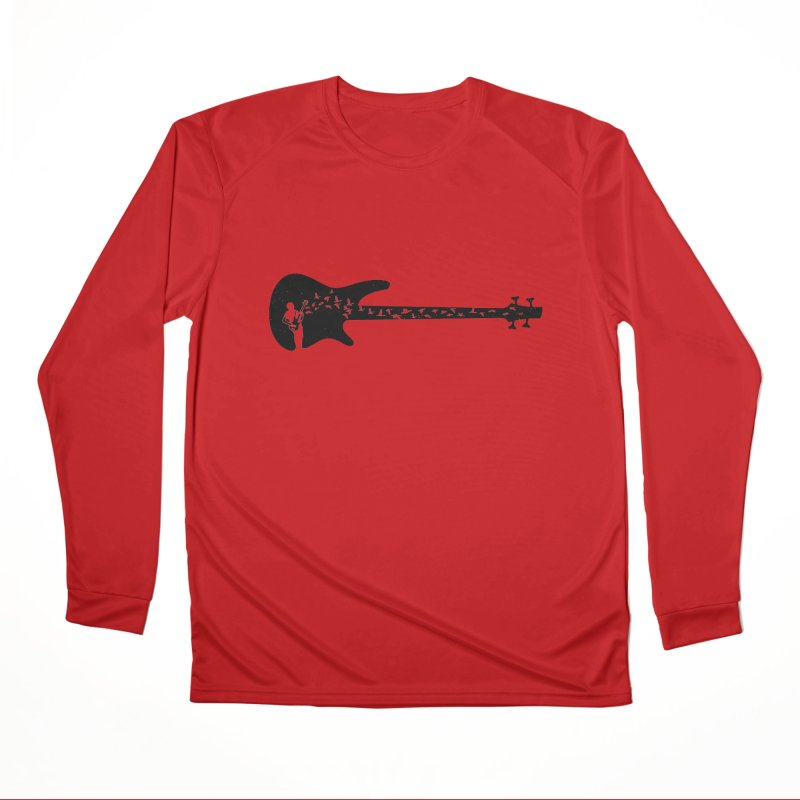 Bass guitar Men's Performance Longsleeve T-Shirt by barmalisiRTB