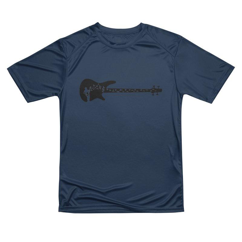 Bass guitar Men's Performance T-Shirt by barmalisiRTB