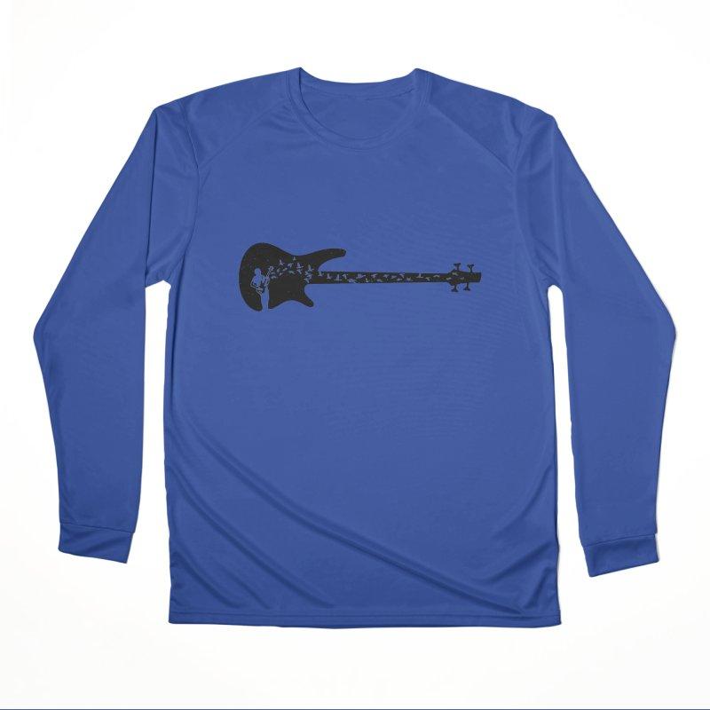 Bass guitar Women's Performance Unisex Longsleeve T-Shirt by barmalisiRTB