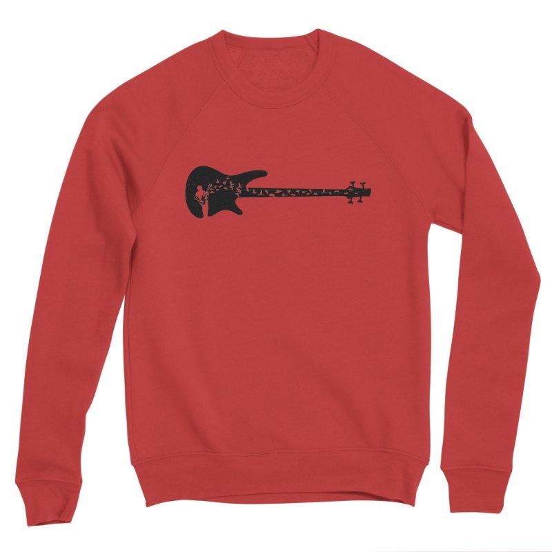 Bass guitar Women's Sponge Fleece Sweatshirt by barmalisiRTB