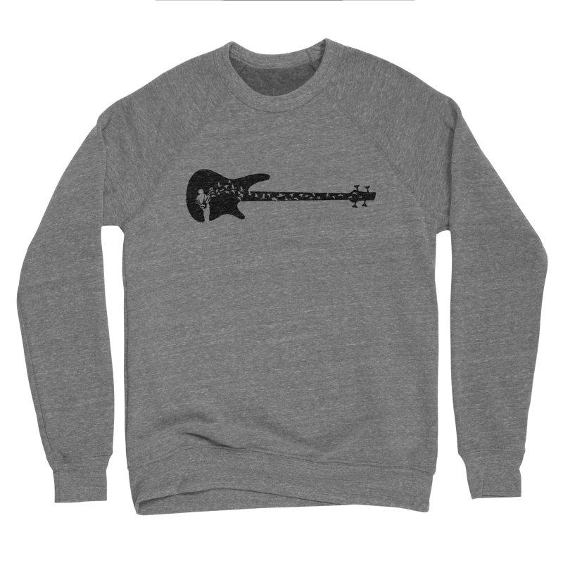 Bass guitar Men's Sponge Fleece Sweatshirt by barmalisiRTB