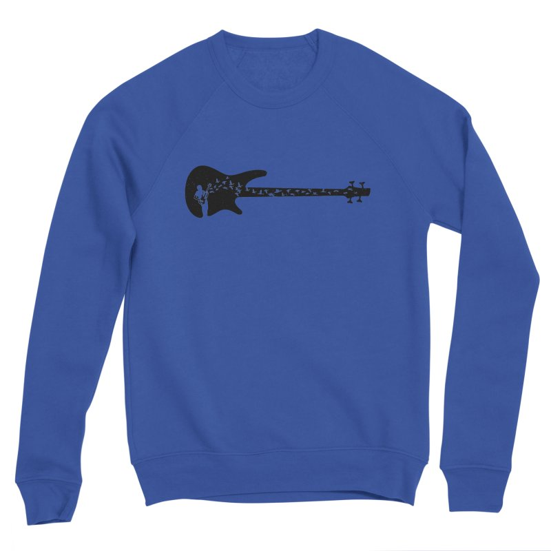 Bass guitar Men's Sweatshirt by barmalisiRTB