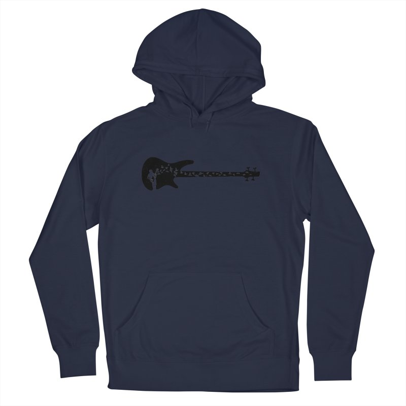 Bass guitar Women's French Terry Pullover Hoody by barmalisiRTB