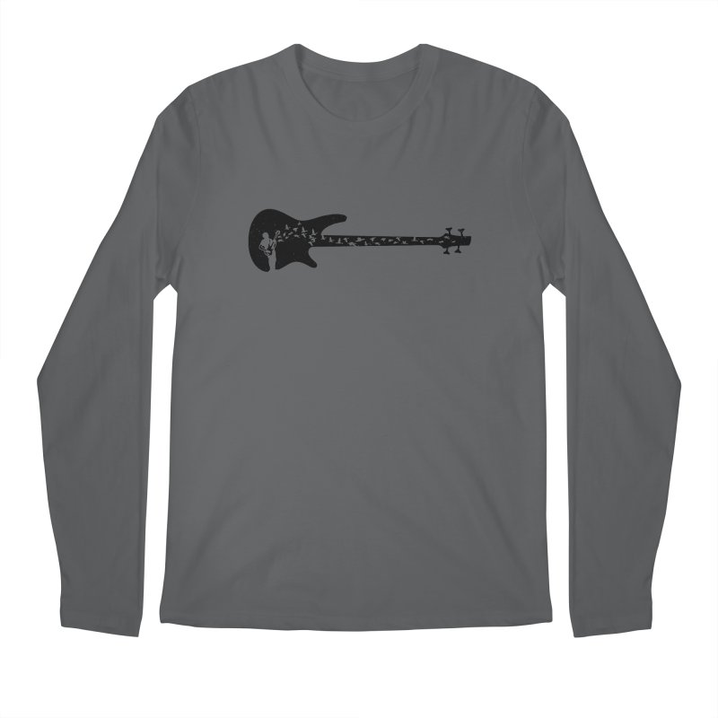 Bass guitar Men's Regular Longsleeve T-Shirt by barmalisiRTB