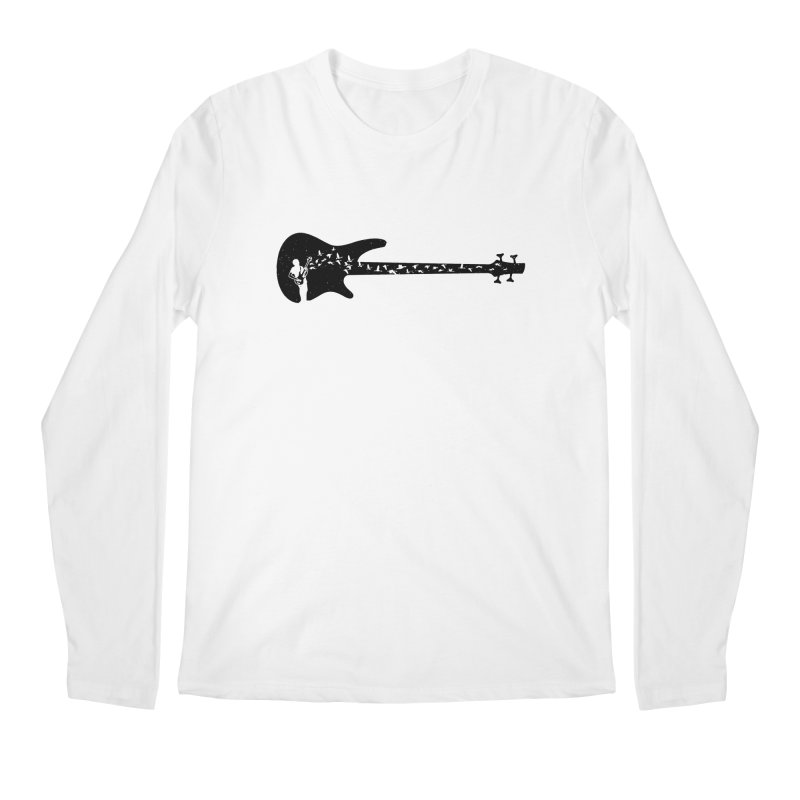 Bass guitar Men's Regular Longsleeve T-Shirt by barmalisiRTB