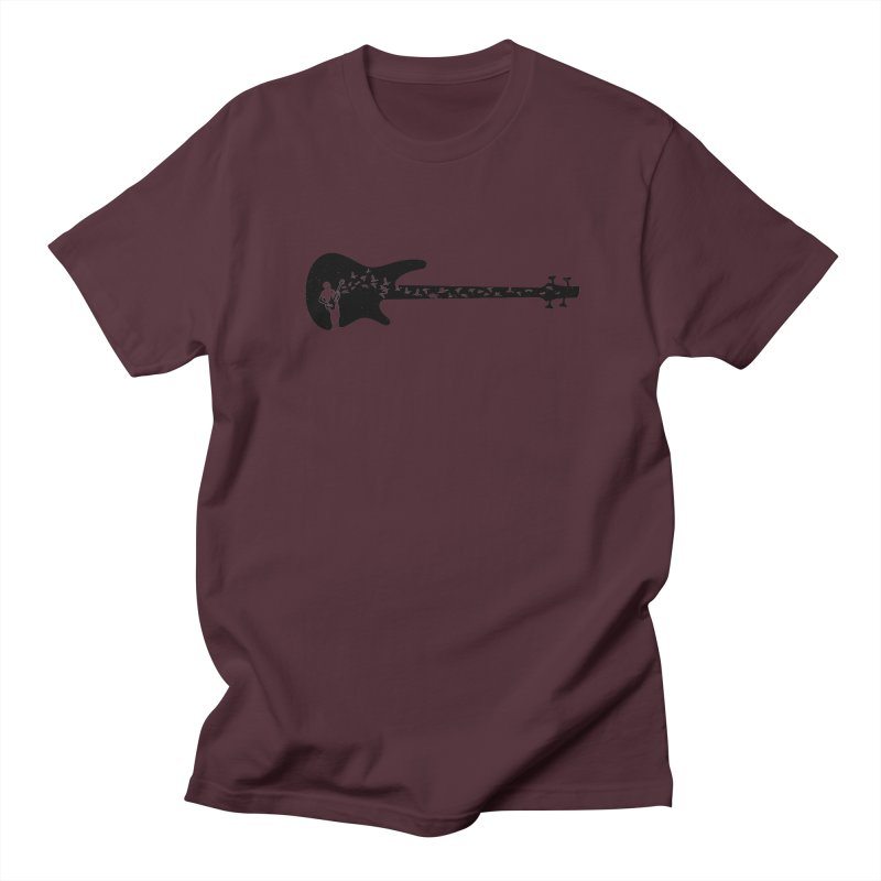 Bass guitar Men's Regular T-Shirt by barmalisiRTB