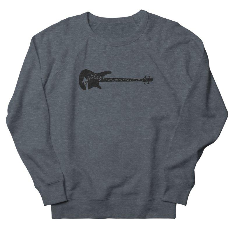 Bass guitar Men's French Terry Sweatshirt by barmalisiRTB