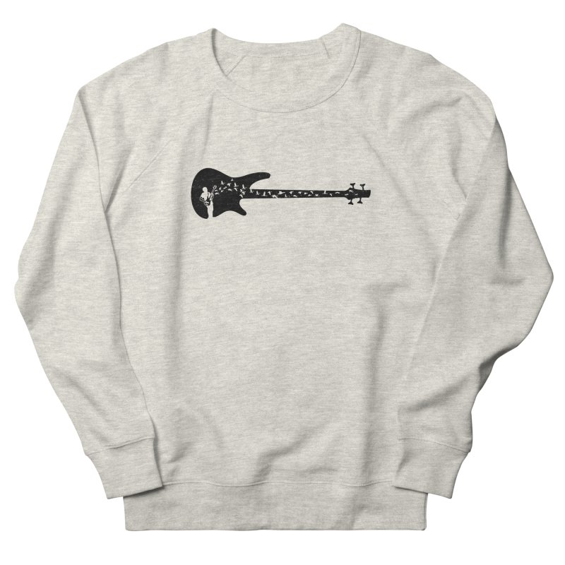 Bass guitar Men's French Terry Sweatshirt by barmalisiRTB